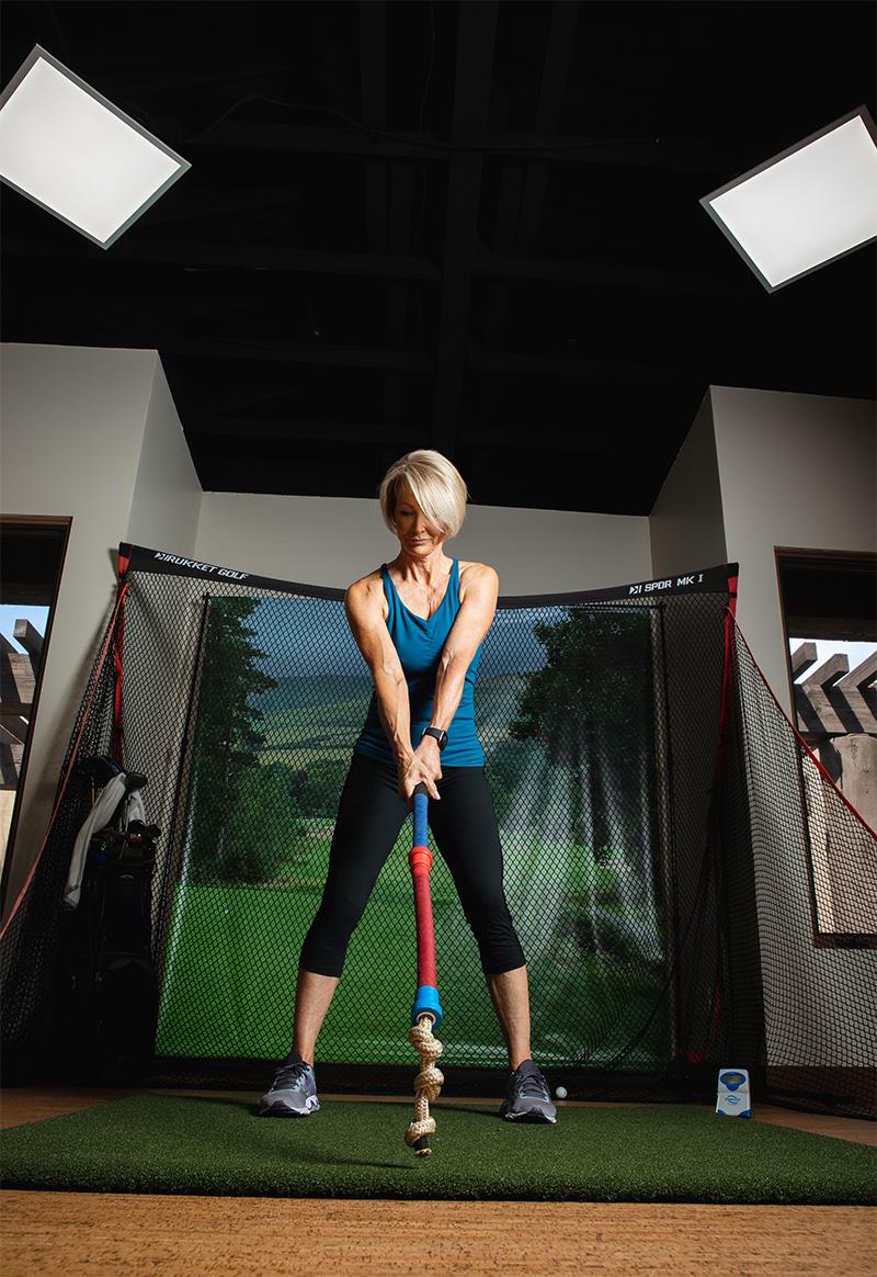 true golf fitness training